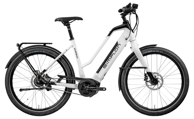 E-Bikes/e-bike: Simplon  Kagu Bosch TR - Mobie Weiß Modell 2019