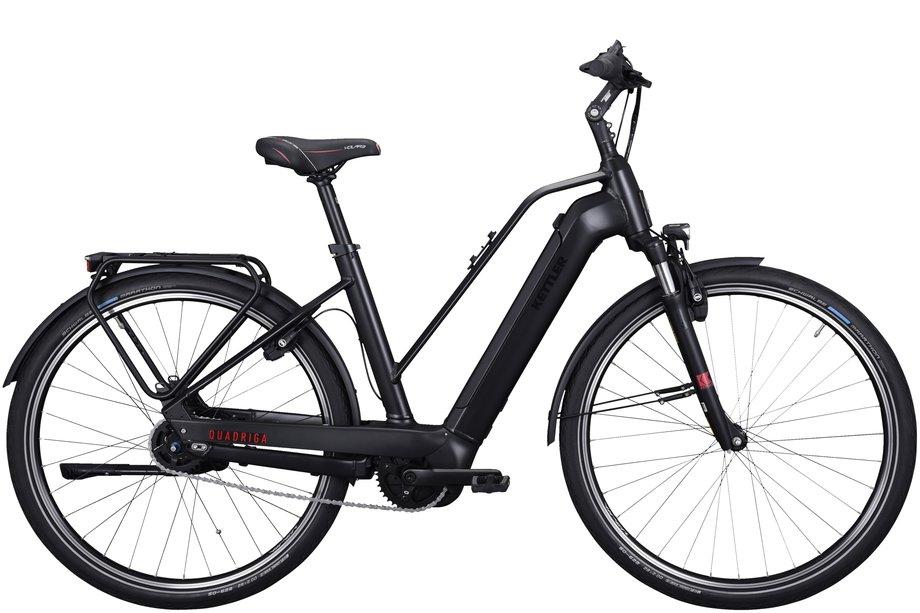 E-Bikes/e-bike: Kettler  Quadriga P5 RT HSI Schwarz Modell 2021