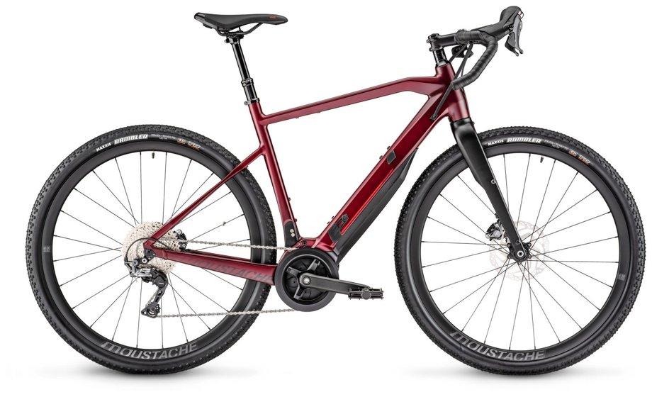 E-Bikes/e-bike: Moustache  Dimanche 29.5 Gravel Rot Modell 2020