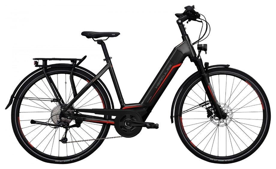 E-Bikes/e-bike: Hercules  E-Imperial I-10 Schwarz Modell 2020