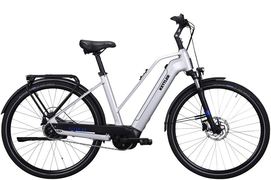 E-Bikes/e-bike: Kettler  Quadriga P5 FL Disc Silber Modell 2021
