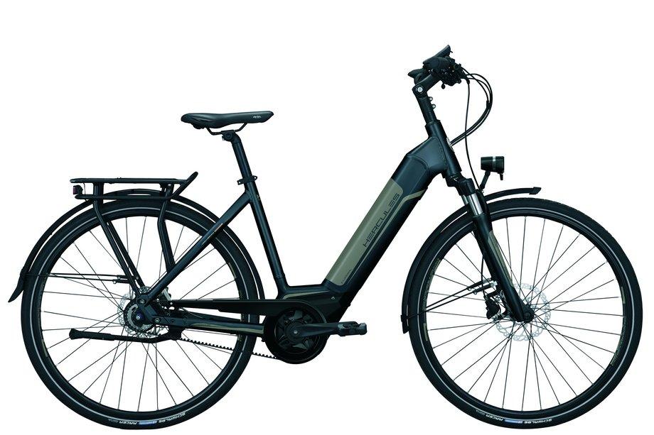 E-Bikes/e-bike: Hercules  E-Imperial I-F8 Grau Modell 2020