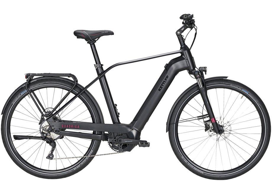 E-Bikes/e-bike: Kettler  Quadriga CX10 Schwarz Modell 2021