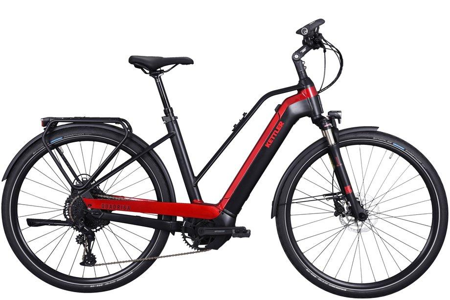E-Bikes/e-bike: Kettler  Quadriga Comp CX12 Schwarz Modell 2021