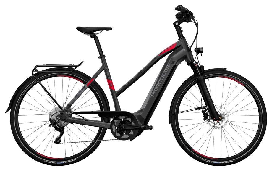 E-Bikes/e-bike: Hercules  Futura Comp I-10 Grau Modell 2020