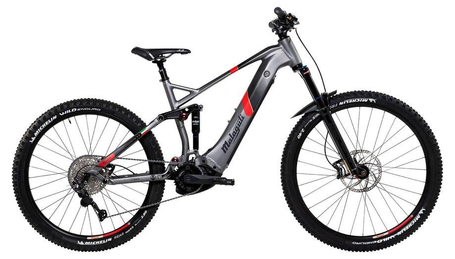 E-Bikes/e-bike: Malaguti  Civetta FS 6.0 Grau Modell 2021