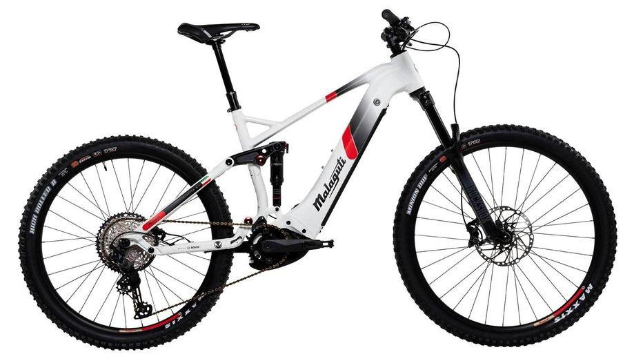 E-Bikes/e-bike: Malaguti  Civetta FS 6.1 Weiß Modell 2021