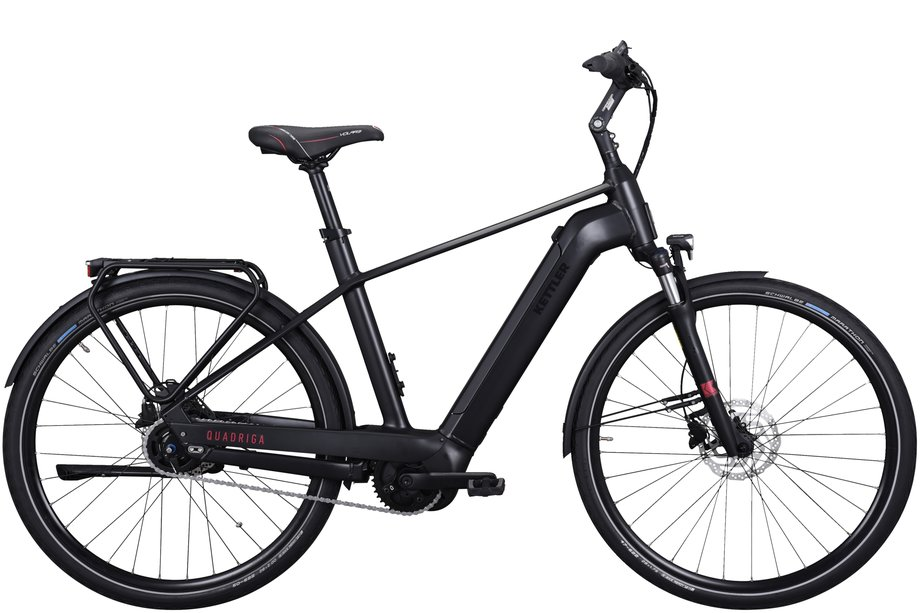 E-Bikes/e-bike: Kettler  Quadriga P5 FL Disc Schwarz Modell 2021