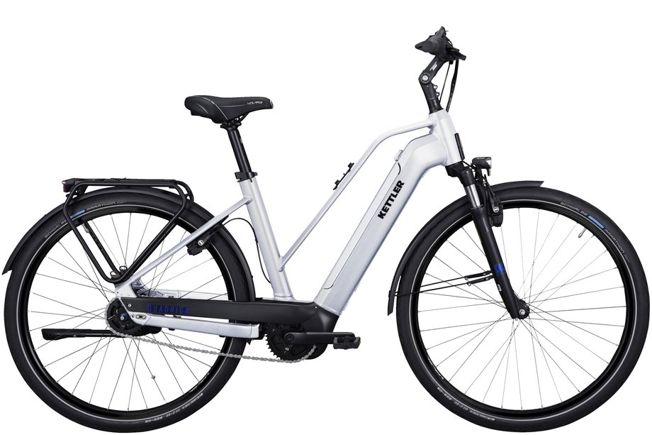E-Bikes/e-bike: Kettler  Quadriga P5 RT HSI Silber Modell 2021
