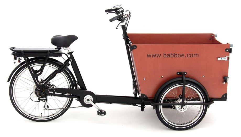 Fahrräder/lastenfahrräder: Babboe  Dog-E Schwarz Modell 2021