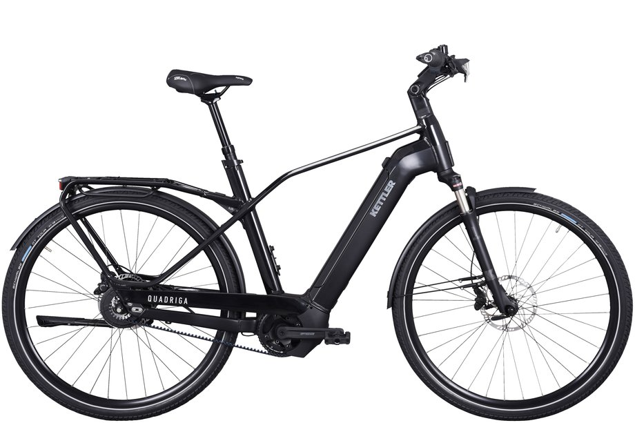 E-Bikes/e-bike: Kettler  Quadriga Pro Belt Schwarz Modell 2021