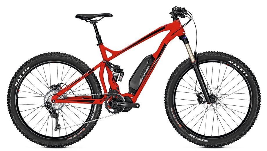 Univega Renegade S 4.5 Alpine E Bike Rot Modell 2020