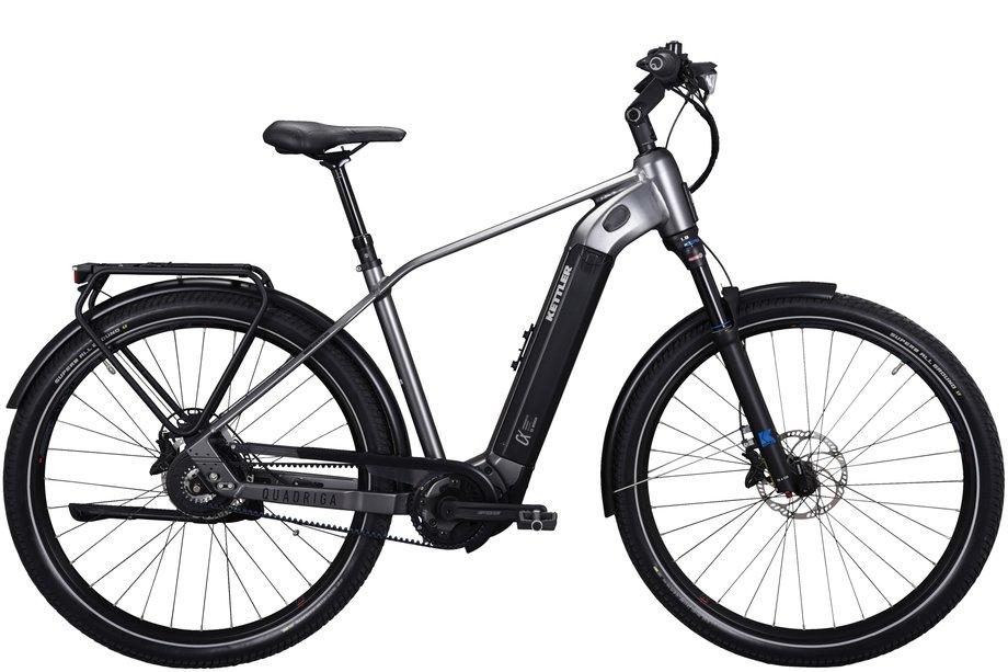 E-Bikes/e-bike: Kettler  Quadriga DUO CX E-TR Schwarz Modell 2021