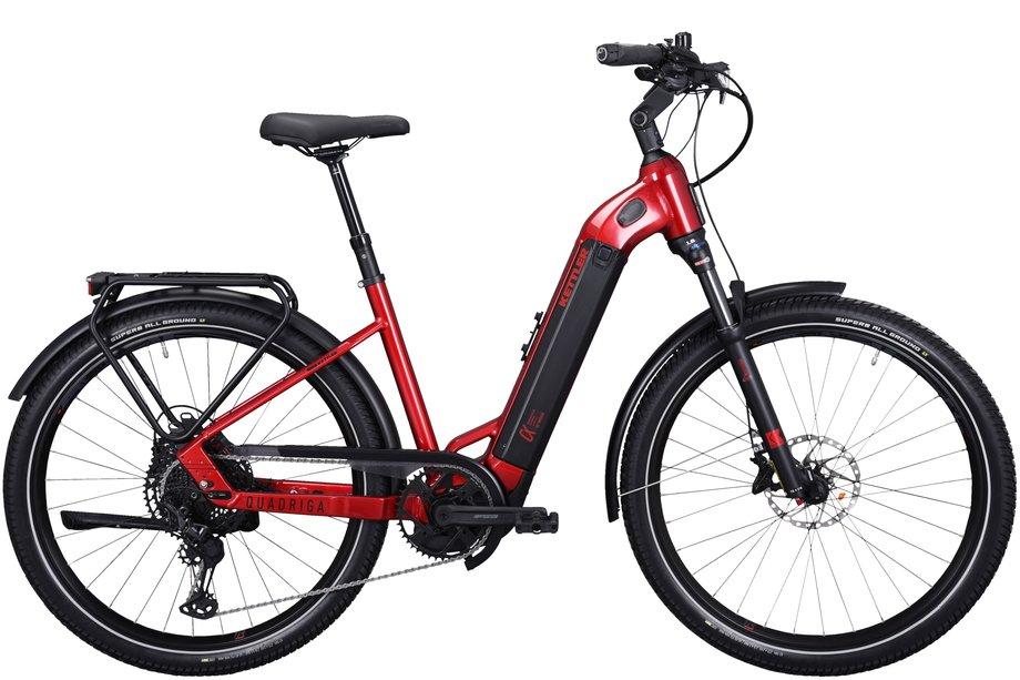 E-Bikes/e-bike: Kettler  Quadriga DUO CX12 Rot Modell 2021
