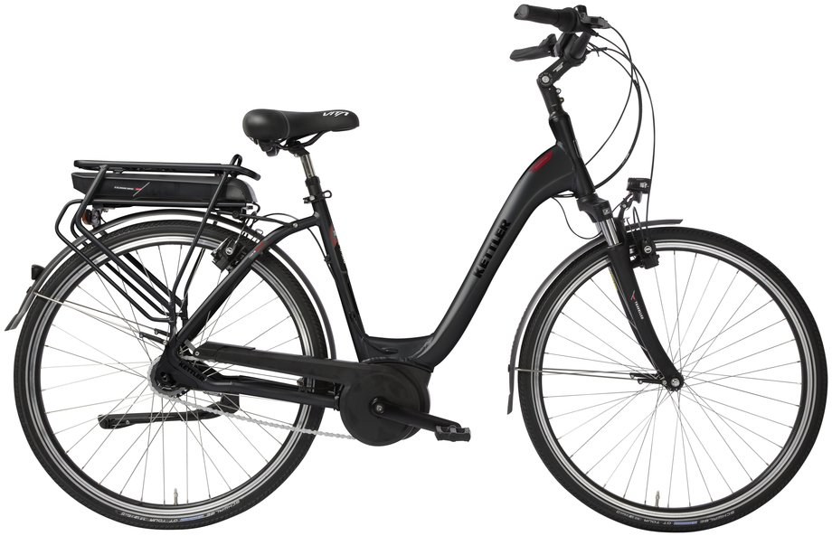 Kettler Traveller E Gold RT (500 Wh) E-Bike Grau Modell 2018