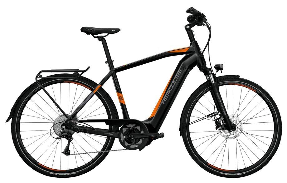 E-Bikes/e-bike: Hercules  Futura Sport I-9 Schwarz Modell 2020