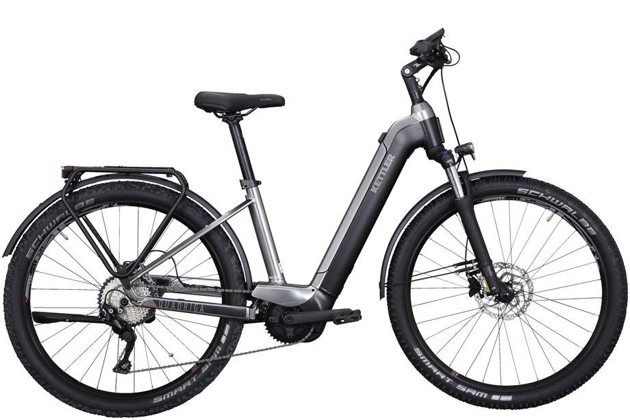 E-Bikes/e-bike: Kettler  Quadriga Town & Country Schwarz Modell 2021