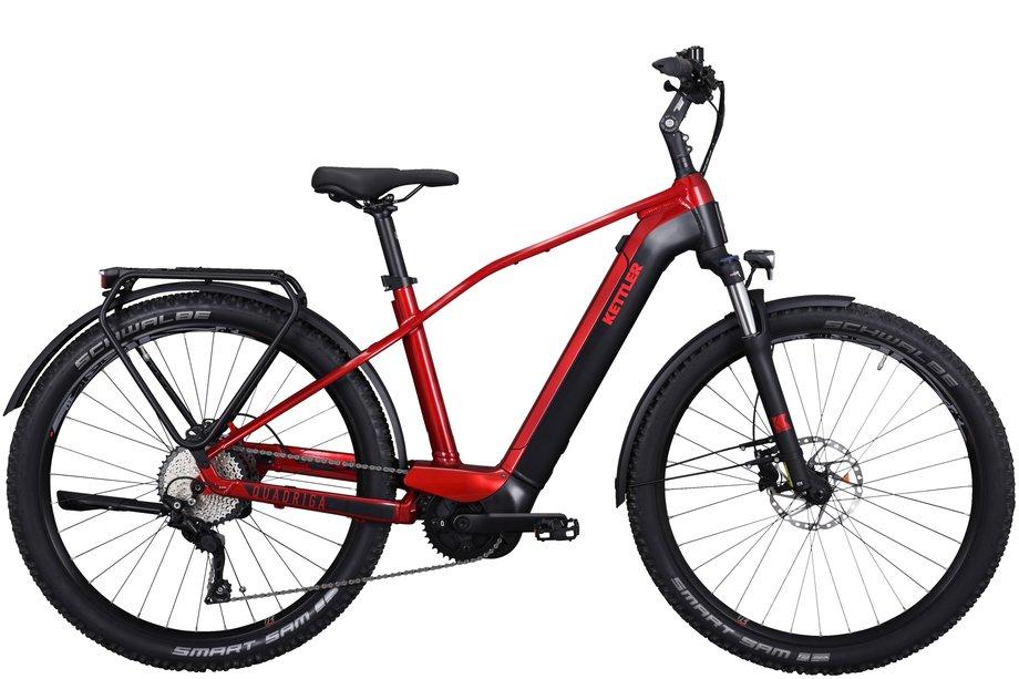 E-Bikes/e-bike: Kettler  Quadriga Town & Country Rot Modell 2021
