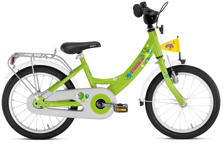 Kinderfahrrad - Puky ZL 16 1 Alu Kinderfahrrad Grün Modell 2020 - Onlineshop