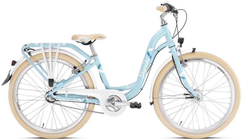 Kinderfahrrad - Puky Skyride 24 3 Alu light Classic Kinderfahrrad Blau Modell 2020 - Onlineshop