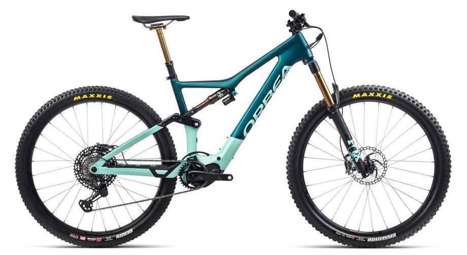 E-Bikes/e-bike: Orbea  Rise M-Team Blau Modell 2021