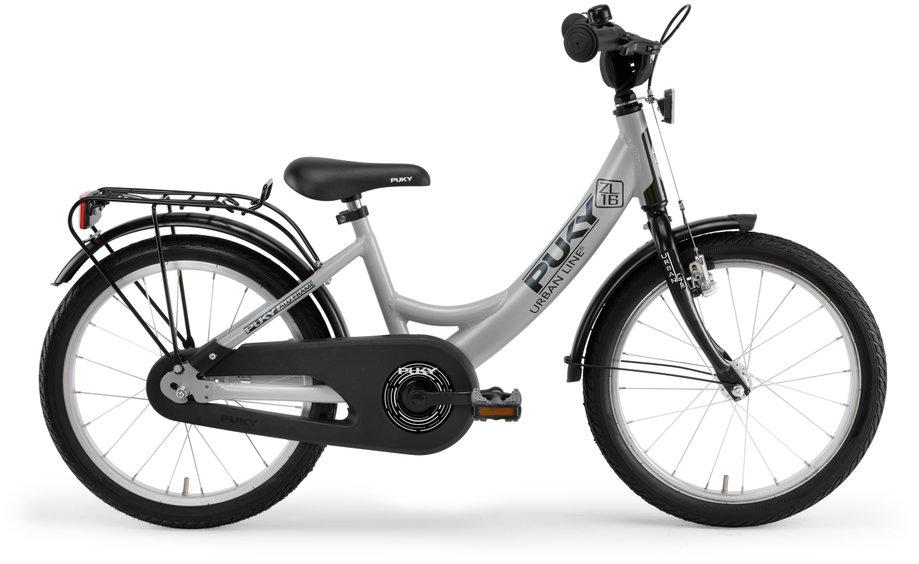Kinderfahrrad - Puky ZL 16 1 Alu Kinderfahrrad Grau Modell 2020 - Onlineshop