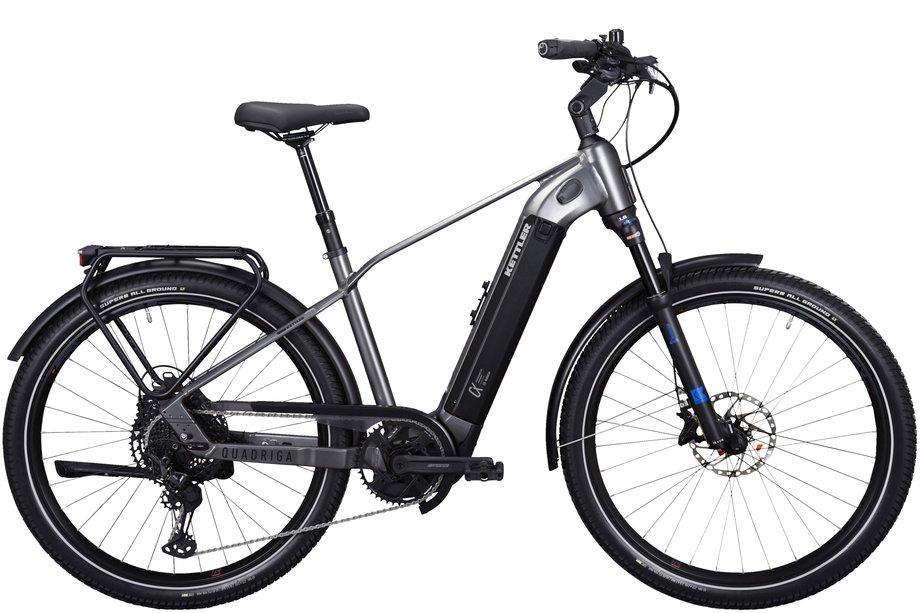 E-Bikes/e-bike: Kettler  Quadriga DUO CX12 Schwarz Modell 2021