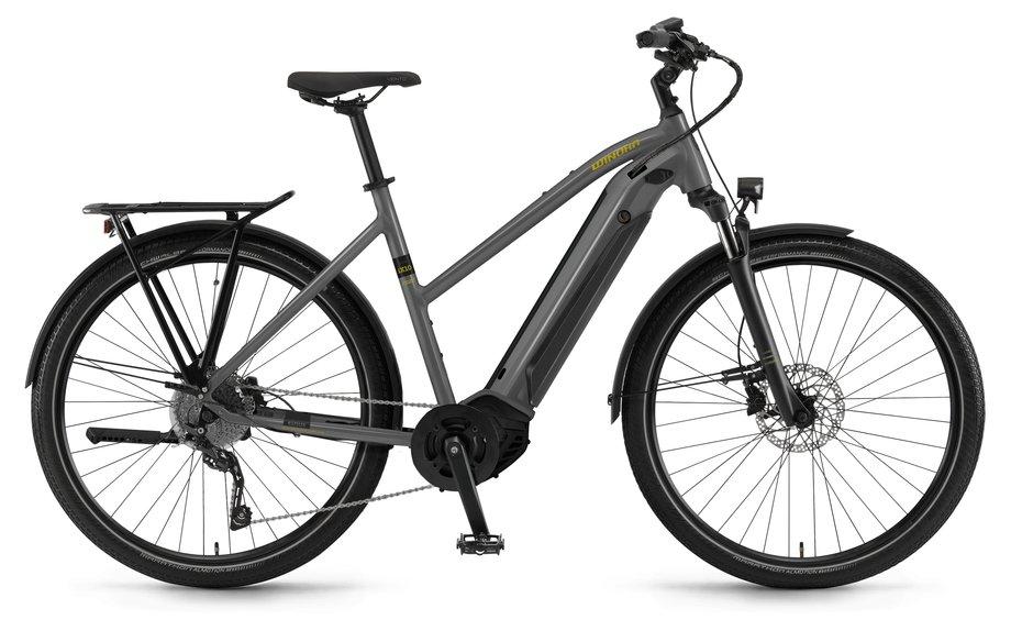 E-Bikes/e-bike: Winora  Sinus iX10 Grau Modell 2021