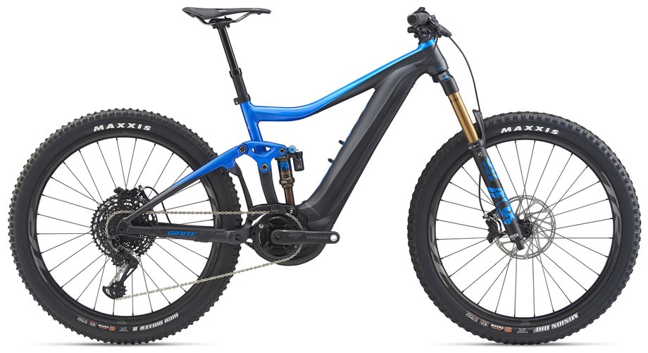 E-Bikes/e-bike: GIANT Giant Trance E+ 0 Pro PWR6 Blau Modell 2020