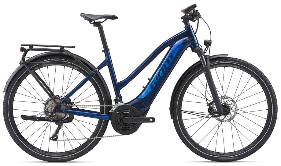 E-Bikes/e-bike: GIANT Giant Explore E+ 0 Pro STA PWR6 Blau Modell 2020
