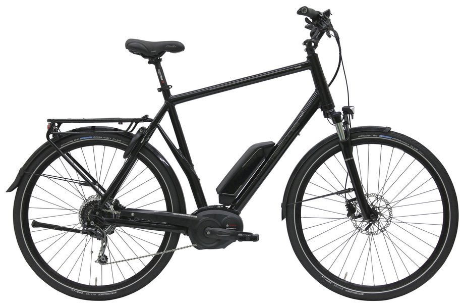 E-Bikes/e-bike: Hercules  E-Imperial 180 S 9 Schwarz Modell 2020