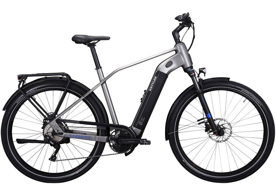 E-Bikes/e-bike: Kettler  Quadriga DUO CX10 Silber Modell 2021