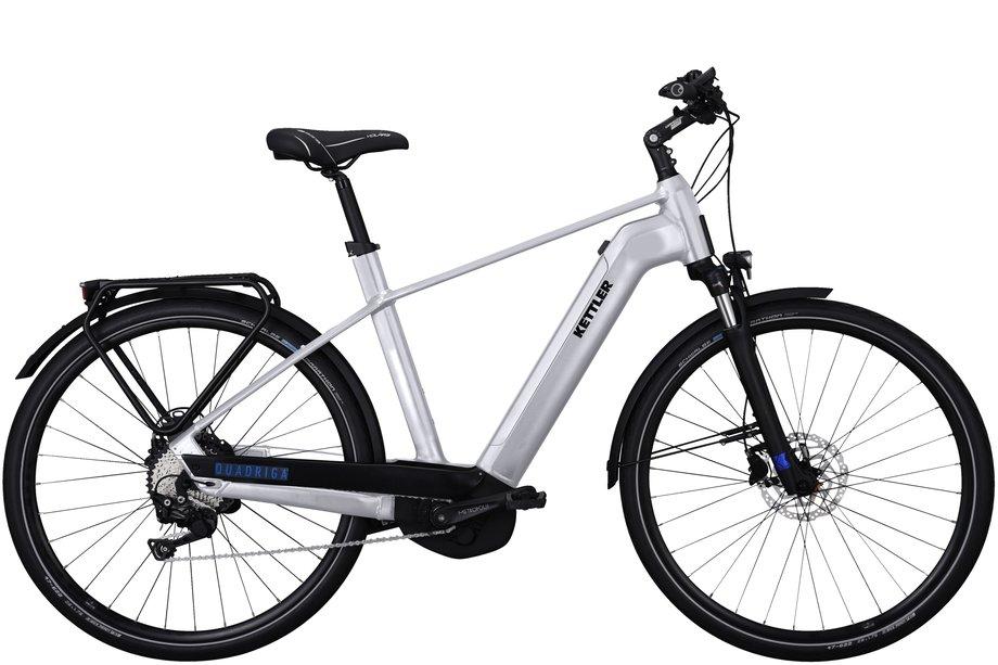E-Bikes/e-bike: Kettler  Quadriga CX10 Silber Modell 2021