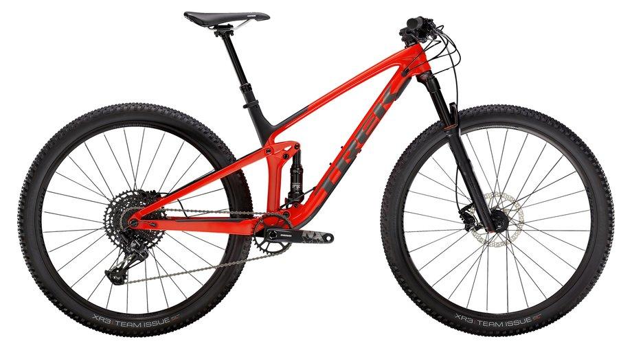 Trek Top Fuel 9.7 Mountainbike Rot Modell 2021
