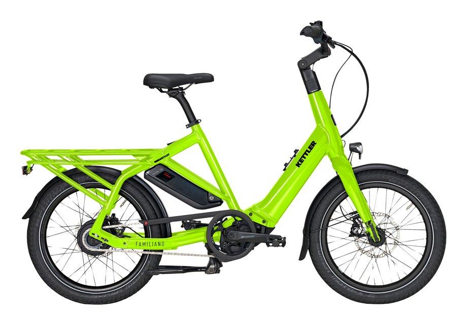 E-Bikes/e-bike: Kettler  Familiano C-N Grün Modell 2021