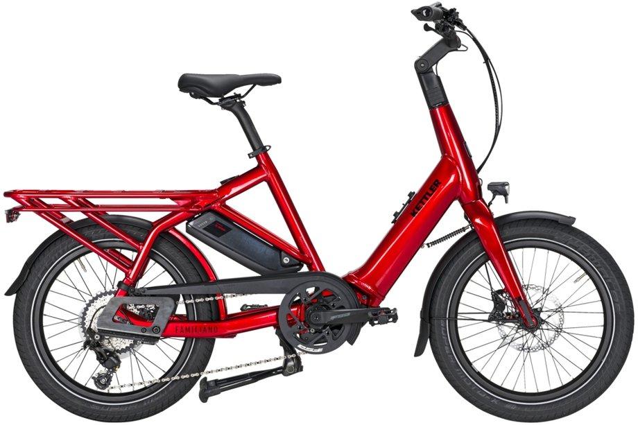 Fahrräder/lastenfahrräder: Kettler  Familiano C-10 Rot Modell 2021