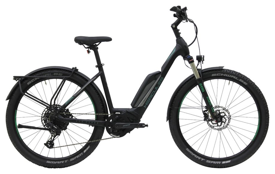 E-Bikes/e-bike: Hercules  Rob Cross Sport 12.1 Street Schwarz Modell 2020
