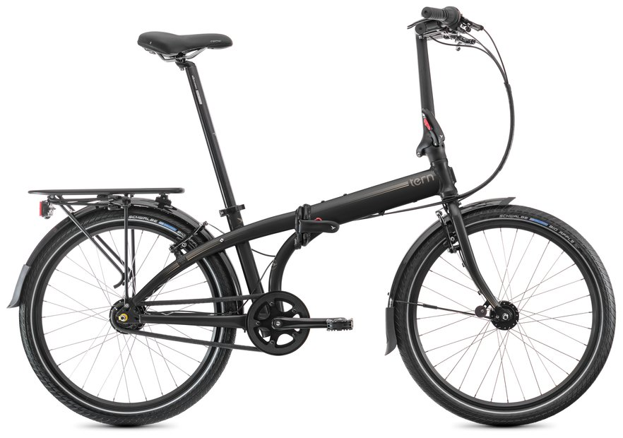 Fahrräder/klappräder: Tern  Node D7i Schwarz Modell 2022