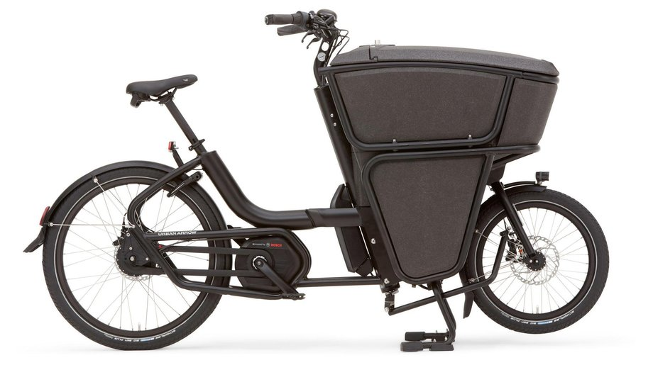Fahrräder/lastenfahrräder: Urban Arrow  Shorty CX Disc Zee Schwarz Modell 2020