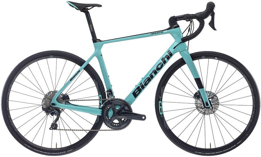 Fahrräder/rennräder: Bianchi  Infinito XE Disc Ultegra Türkis Modell 2021