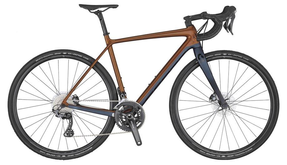 Scott Addict Gravel 20 Braun Modell 2020