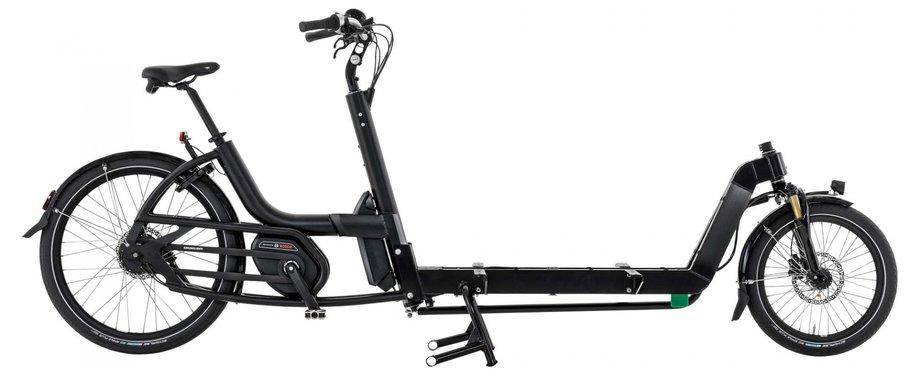 Fahrräder/lastenfahrräder: Urban Arrow  Cargo XL Flatbed CX Disc Zee Schwarz Modell 2020