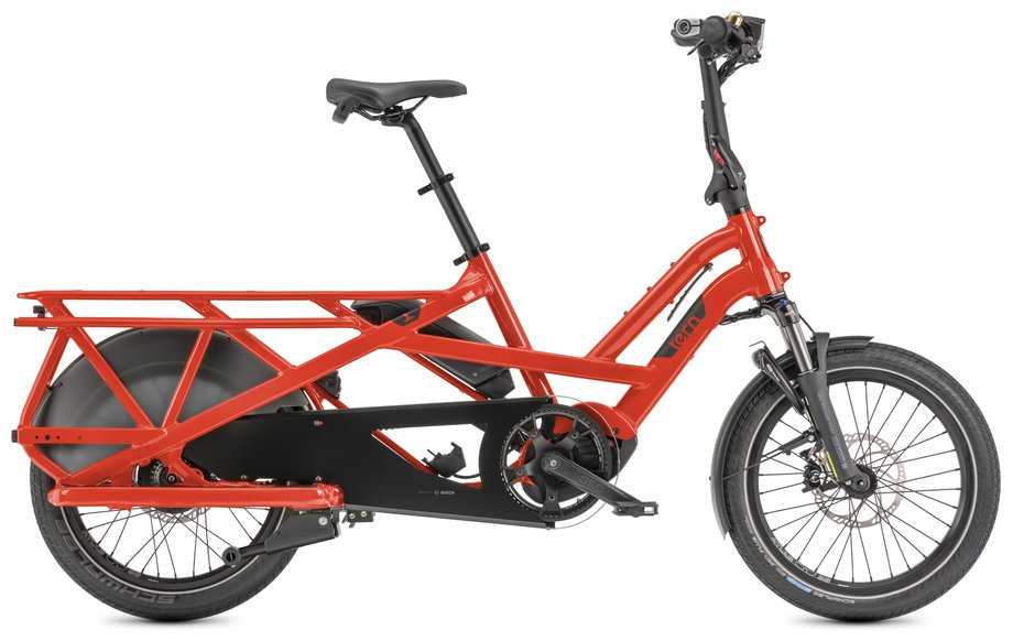E-Bikes/e-bike: Tern  GSD S00 Rot Modell 2022