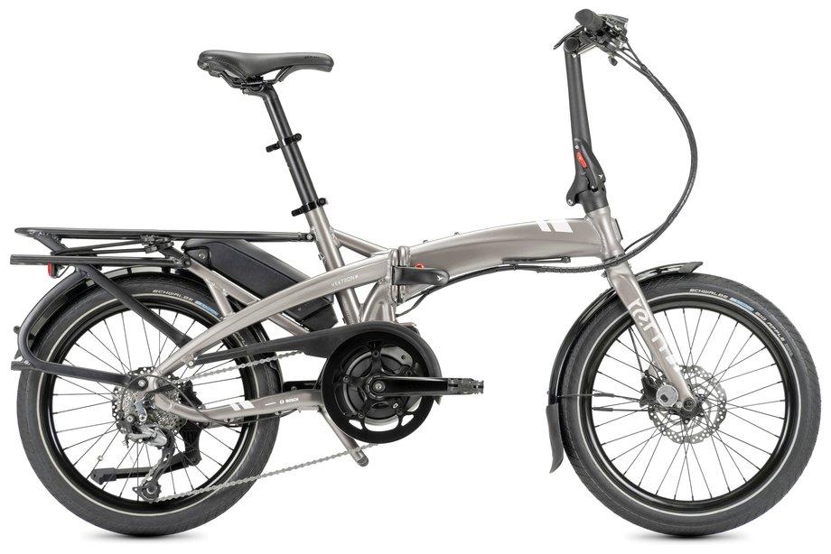 E-Bikes/e-bike: Tern  Vektron Q9 Silber Modell 2022