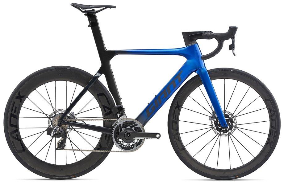 Fahrräder/rennräder: GIANT Giant Propel Advanced SL Disc Blau Modell 2020