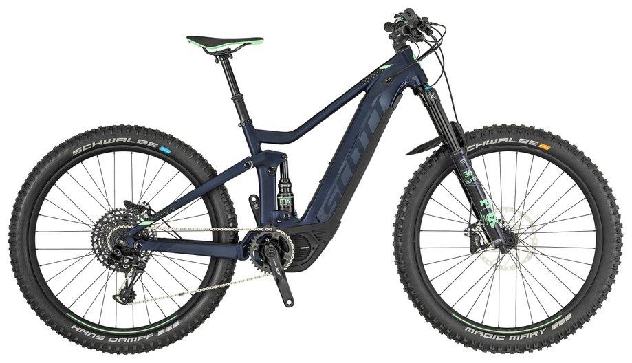 E-MTB Fully E-Bike Scott Contessa Genius eRide 710 Blau*
