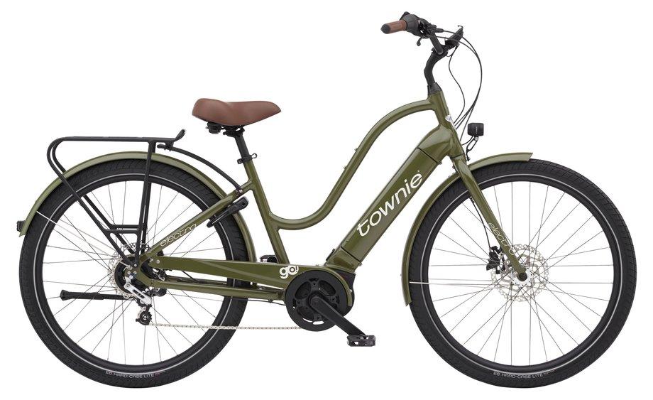 E-Bikes/e-bike: Electra  Townie Path Go! 5i Step-Thru Grün Modell 2021