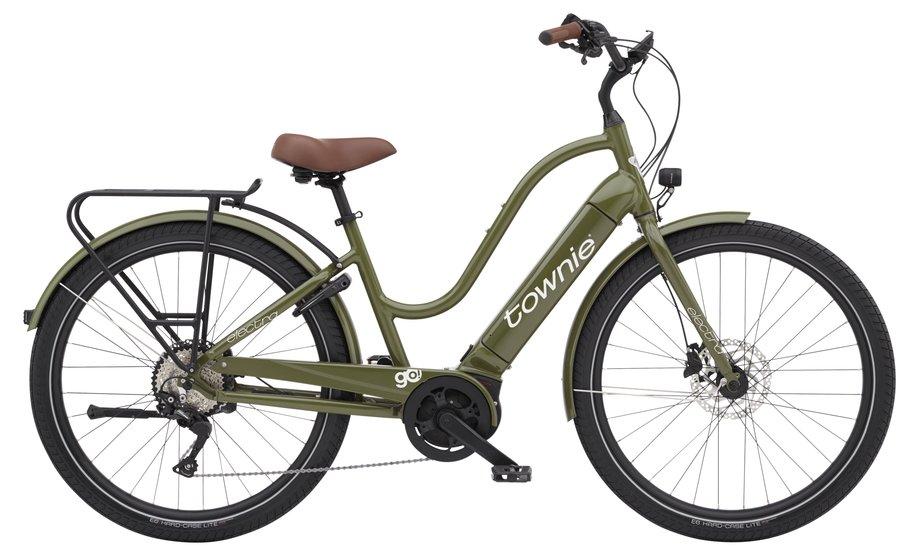 E-Bikes/e-bike: Electra  Townie Path Go! 10D EQ Step-Thru Grün Modell 2021