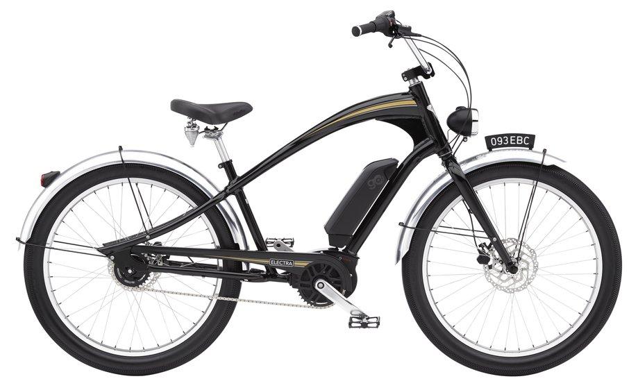 E-Bikes/e-bike: Electra  Ghostrider Go! Schwarz Modell 2021