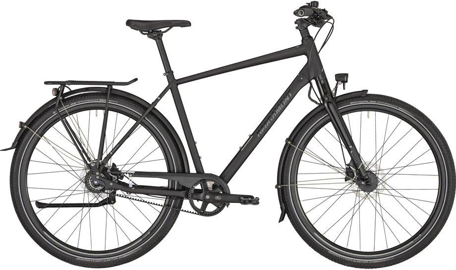 Fahrräder/citybike: Bergamont Bergamont Vitess N8 Belt Gent Schwarz Modell 2021
